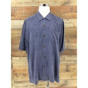 Tommy Bahama Original Fit 100% Silk Button Shirt